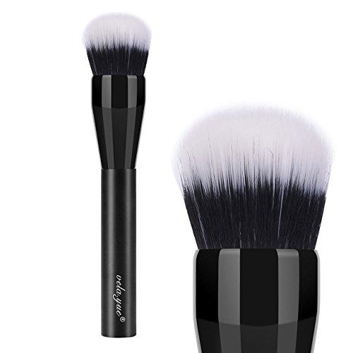 Face Brush Fibre Small Duo (vela.yue Domed Stippling Brush Duo Fiber Finish Powder Brush)