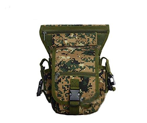 XD-DE-Camo multifunktionale Bein Fahrt in/outdoor-Sport Tasche/Reise Taschen/wasserdichte taktische Bein packs f