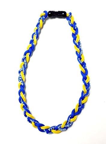 Titanium Germanium Tornado Baseball Necklace 20