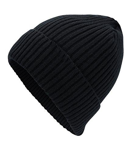 para y estilo Cexin Gorro de otoño invierno urbano negro hombre lana tOwRxHq