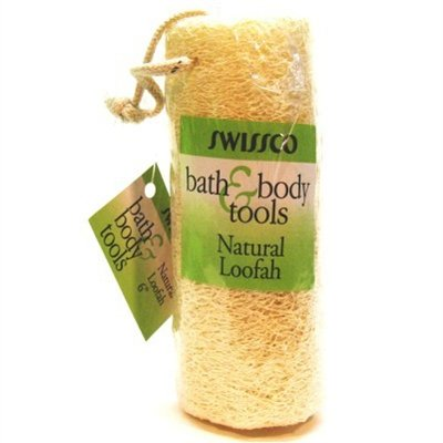 Swissco Natural Loofah 6'' (Pack of 3) by Swissco