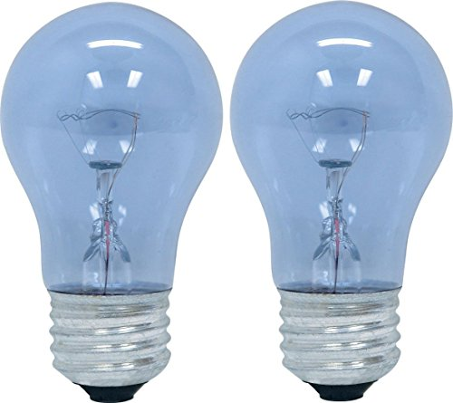 Reveal Appliance - GE Lighting 48706 40-Watt Reveal A15 Appliance Bulb, 4 Pack
