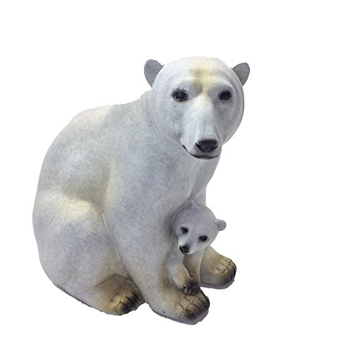 Alaska Wildlife Figurine Polar Bear & Cub Special Edition