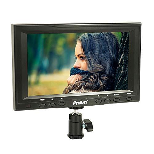 ProAm 7 On-Camera LCD Video Monitor Kit with RCA AV Inputs
