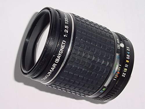 PENTAX ASAHI TAKUMAR K (BAYONET) MOUNT 135MM F/2.5 TELEPHOTO PRIME LENS