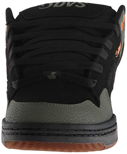 125 Scarpe Shoes Deegan Noir Skateboard black Uomo Enduro 006 Da Olive Dvs Nubuck AtEqHd6ww