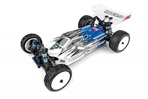 4wd Buggy Kit (RC10B64 Team Kit Combo Pack w/ ESC, Motor, LiPo Shorty Battery Pack, Servo: ARR Almost Ready To Run 1/10 Scale Competition 4wd Electric Racing Buggy Kit)