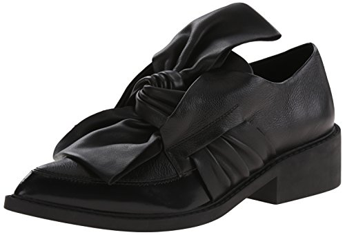 L.A.M.B. Womens Embark Slip-On Loafer Black 10 M US