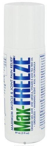 Vanishing Formula (Zim's - Max-Freeze Maximum Muscle and Joint Pain Relief Roll-On Formula Vanishing Scent - 3 oz. by Zims)