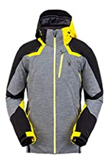KEY FEATURES Multiple zippered pockets at the interior and exterior keep your belongings safe while on the slopes Targeted interior stretch panels and an underarm ventilation system make it ideal for athletes The removable hood and powder ski...