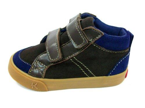 New Toddler Boys See Kai Run Hansen Brown High Top Sneakers Shoes