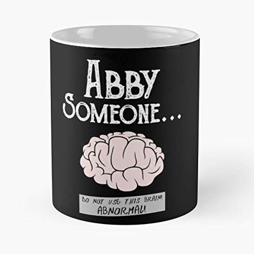 Young Frankenstein Gene Wilder Abby Normal - 11 Oz Coffee Mugs Unique Ceramic Novelty Cup, The Best Gift For Halloween.]()