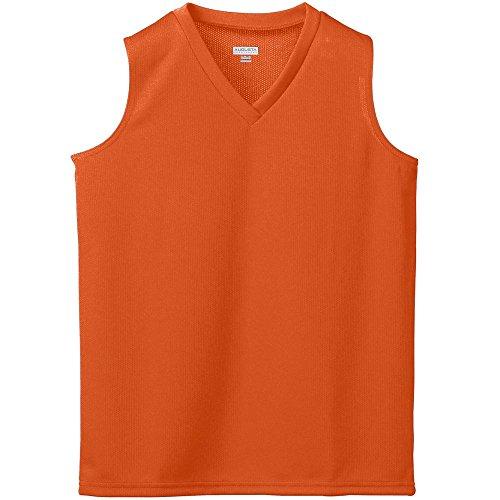 Augusta Sportswear Women's Wicking MESH Sleeveless Jersey M Orange