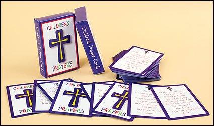 Holy Prayer Card Assortment for Children 54 Cards -