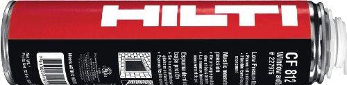 HILTI 03413889 CF 812 Window and Door Pro Foam, 12-Pack