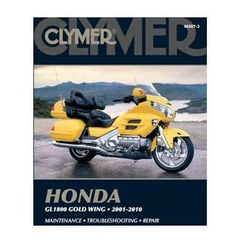 amazon com clymer repair manual for honda gl1800 goldwing 01 05 rh amazon com 2006 Honda Goldwing Trike Motorcycles Sale 2006 honda goldwing gl1800 service manual pdf