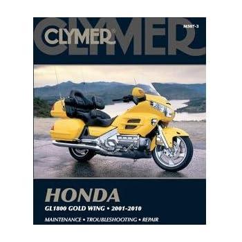 amazon com clymer repair manual for honda gl1800 goldwing 01 05 rh amazon com 2005 gl1800 service manual 2005 honda goldwing owners manual pdf