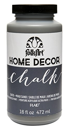 FolkArt 34876 Home Decor Chalk Furniture & Craft Paint in Assorted Colors, 16 ounce, Maui Sand (Maui Office Furniture)