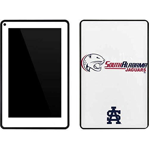Skinit South Alabama Jaguars Heather Grey Kindle Fire Skin - Officially Licensed Learfield Collegiate Tablet Decal - Ultra Thin, Lightweight Vinyl Decal Protection