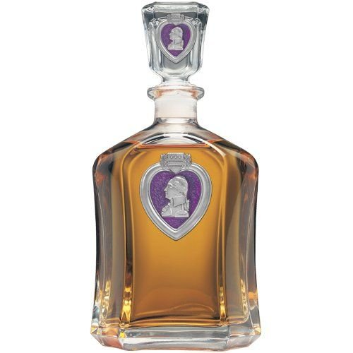 - United States Purple Heart Capitol Decanter