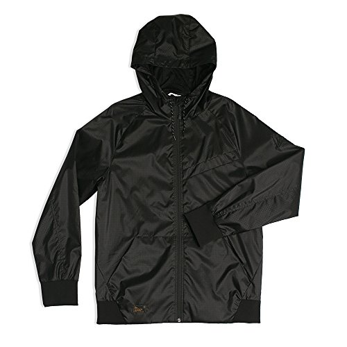Imperial Motion Mens Welder Nct Windbreaker Jacket  Black  Large