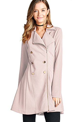 Double Breasted Womens Trench Coat - 9