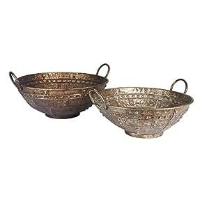 Amazon.com: Household Essentials Rustic Bronze Metal