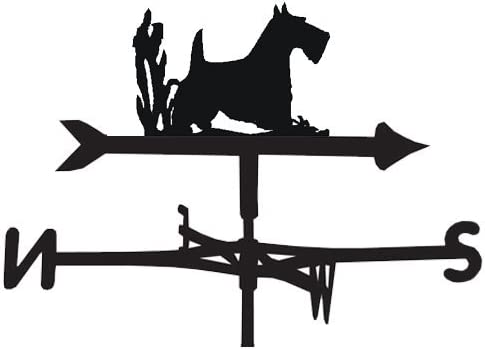 The Profiles Range Weathervane in Scottie Dog Design