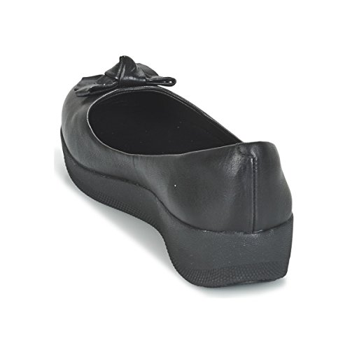 Zapatos Superballerina Pretty Fitflop Negro Negro Bow CafHtRwq