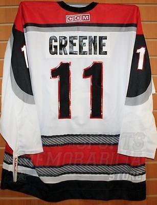 - Greene Portland Pirates #11 AHL CCM Official Replica Hockey Jersey XL