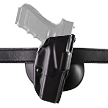 Safariland Glock 19, 23 6378 ALS Concealment Paddle Holster, Plain Black, Right Handed