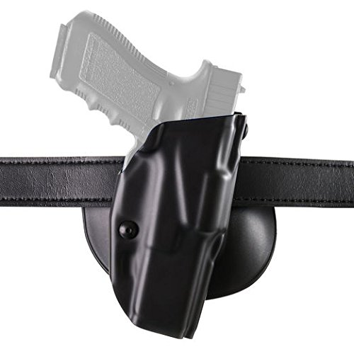 Safariland Glock 19, 23 6378 ALS Concealment Paddle Holster, Plain Black, Right - Right Holster Hand Paddle
