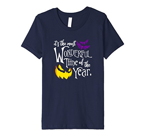 Kids Halloween Most Wonderful Time Of The Year PREMIUM t-shirt 10 Navy (Universal Halloween Horror Nights Time)