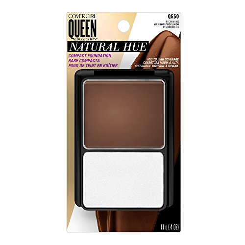 COVERGIRL Queen Natural Hue Compact Foundation Rich Mink, .4 oz