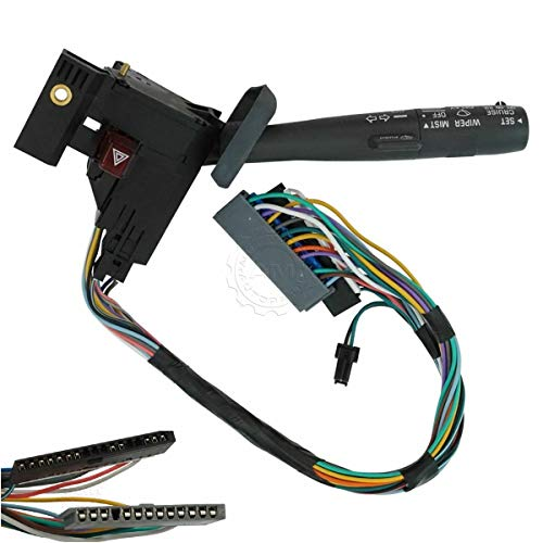 Cruise Control Windshield Wiper Arm Turn Signal Lever Switch Compatible w/Chevy&GMC&Truck Quick Delivery