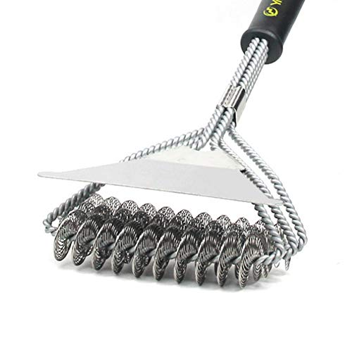Neawo Grill Brush and Scraper, 18