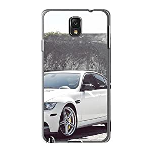 Fashion TUO9072hLhN Cases Covers For Galaxy Note3(bmw M3 E90 White)