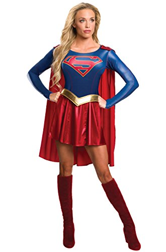 (Rubie's Women's Supergirl Tv Show Costume Dress, As As Shown)