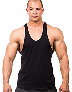 Athletic-Cut Muscle Workout Tank Top