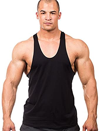 Iwearit athletic cut muscle workout tank top at amazon men for Mens athletic cut shirts