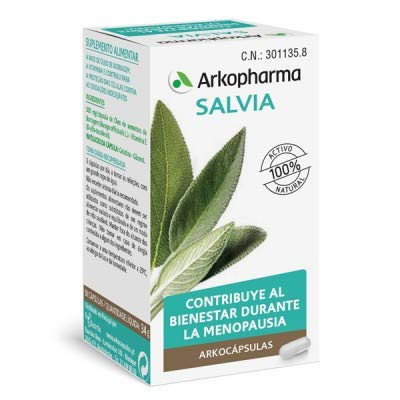 ARKOPHARMA ARKOCAPSULAS SALVIA 50 CAPS: Amazon.es: Salud y ...