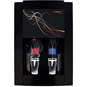 Aquaguard Blaze RO+UV+MTDS Water Purifier, Active Copper Technology with HOT & Ambient water (Black), Large