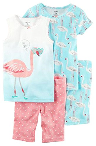 Carter's Girls' 4 Pc Cotton 351g244, Print, - Sale Designer Warehouse Online