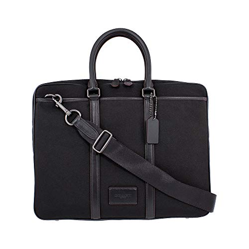 COACH Men's Metropolitan Slim Brief Qb/Black/Black One Size