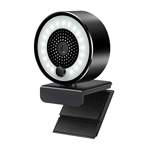 HUJIN Webcam with Microphone 2K Full HD Camera,USB Streaming Webcam, Widescreen Web Camera,Great for Video Conferencing,Live Streaming,etc