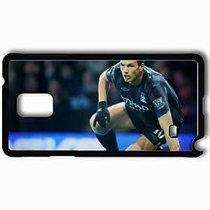 Personalized Samsung Note 4 Cell phone Case/Cover Skin 2013 unique edin dzeko Black