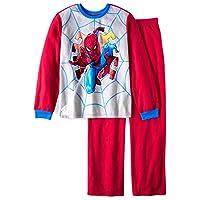 Marvel Boys Spider-Man 2 pc Brushed Jersey Pajama Set