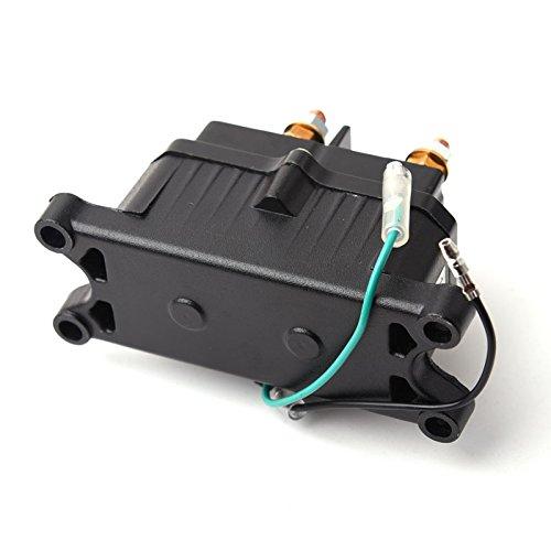 Bewant 12V Solenoid Relay Contactor /& Winch Rocker Thumb Switch Combo Set for ATV UTV 5559008917