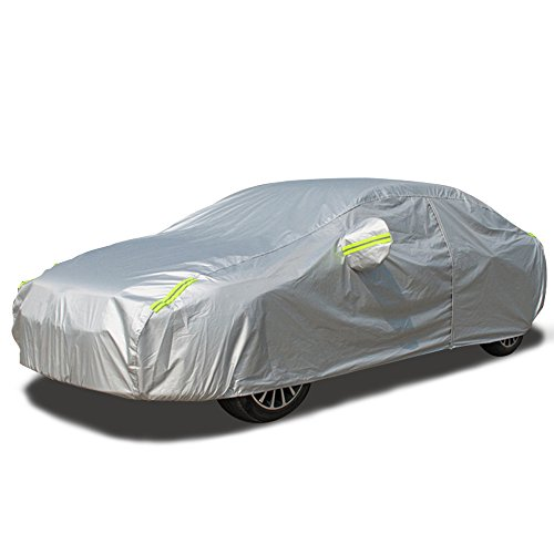 All Season Vehicles - LINFEN Car Cover-Breathable Waterproof Car Covers All Season All Weather Protection Vehicle Cover Fits Sedan (193''Lx75''Wx59''H)