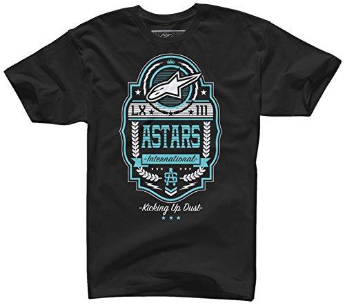 ALPINESTARS Men's Labeled T Shirt, Black, Large